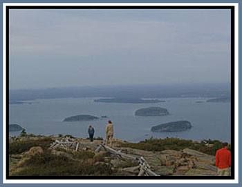 Cadillac Mountain in Acadia National Park © Page Makers, LLC