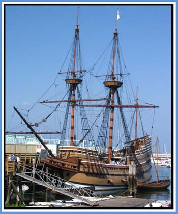 Mayflower II in Plymouth, MA © Page Makers, LLC