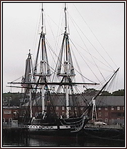 USS Constitution in Boston Harbor, MA © Page Makers, LLC