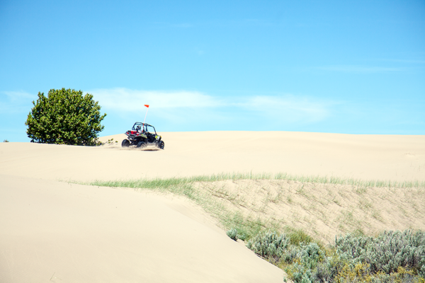 Dune Buggy at Saint Anthony Sand Dunes ~ © Copyright All Rights Reserved John William Uhler